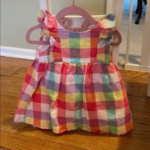 Baby Gap Multi-Colored Spring Dress
